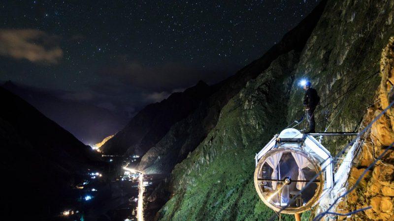 skylodge adventure suites night
