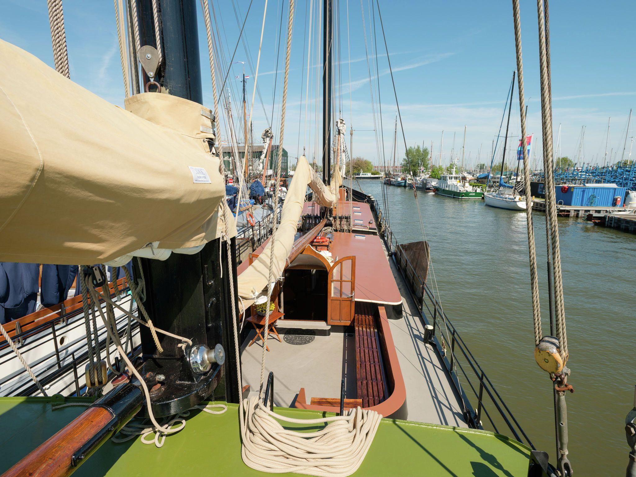 1911er Segelboot Korevaer