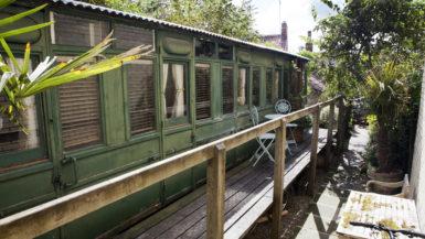 Hemsleys-Eisenbahnwaggon-ansicht