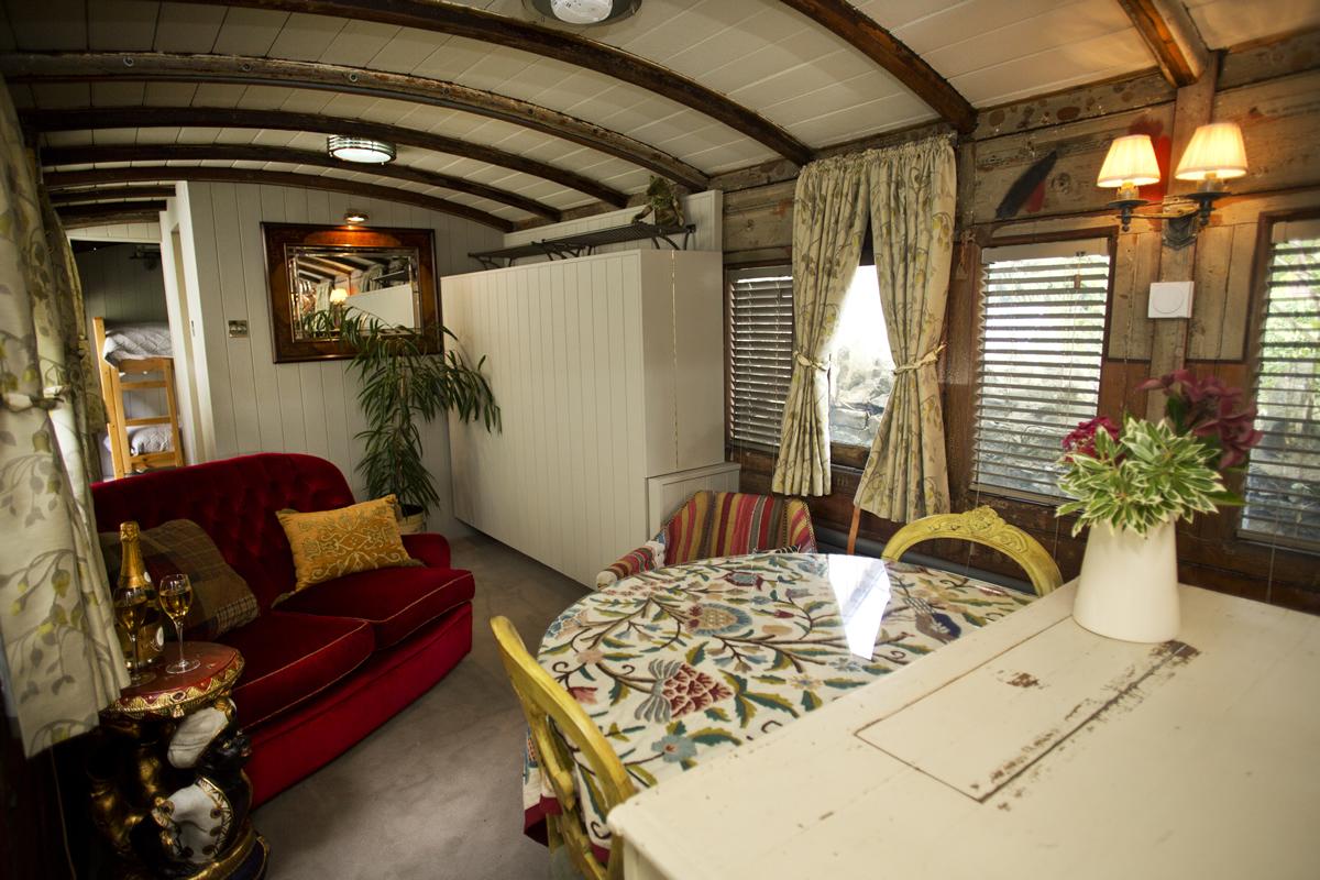 Hemsleys-Eisenbahnwaggon